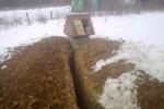 Водопровод на даче зимой